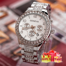 2017 Relojes de pulsera simples para mujer Relojes de pulsera para mujer Cestbella