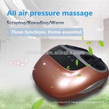 pétrissage GUASHA bulle d'air confort jambe et pied machine de massage infrarouge et vibration sang circulation machine de massage des pieds