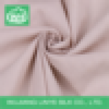 Tecido de popeline de algodão simples penteado ecológico roupas usadas