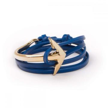 Hot Jual Stainless Steel Custom Half Anchor Gelang