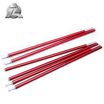 muestra gratis 7001 serie 8.5 mm telescópica anodizado aluminio carpa poste