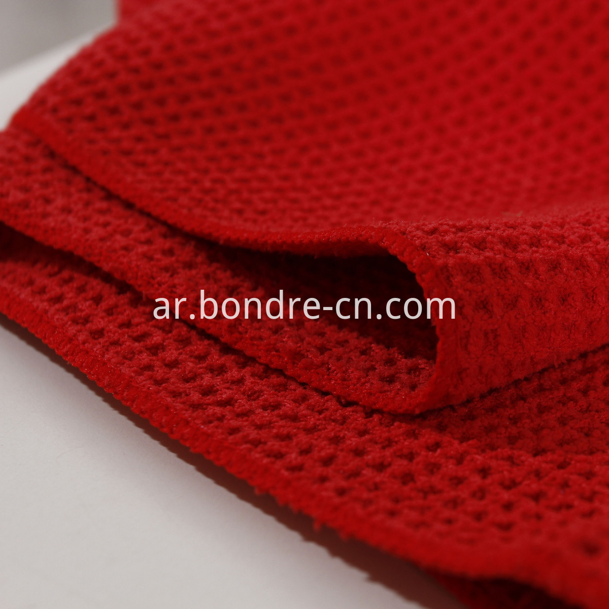 Waffle Weaving Microfiber Cleaning Cloth (2)