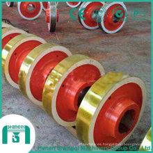 Tablero Variedad de opciones Componentes de grúa Llantas de acero forjado