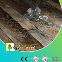 Household 12.3mm E1 HDF AC3 Embossed Oak V-Grooved Laminate Floor