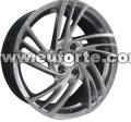 17「OZ ハイパー銀カスタム スタイル アルミニウム合金車輪の縁