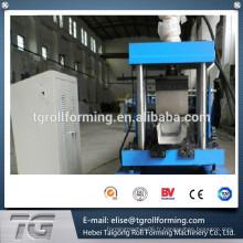 2015 nouveau type de conception en acier galvanisé eau de pluie machine à former des rouleaux de gouttière
