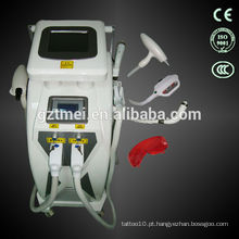 Profissional de depilação a laser elight ipl rf máquina