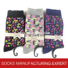 Chaussette de coton causale pour femme (UBM1065)