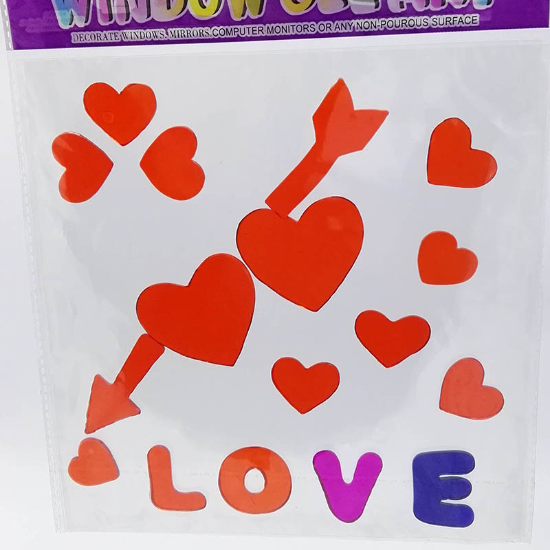 Jelly Windows Stickers For Valentine S Day