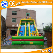 Giant SpongeBob inflatable bouncer stair slide for kids