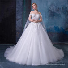 Vestido de novia de alta calidad vestido nupcial 2018 zhongshan vestido de novia