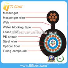 Fabricación al aire libre Cable de fibra óptica de soporte de cable precio- GYXTC8Y