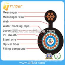 Производство Открытый кабель Самонесущий оптоволоконный кабель цена-GYXTC8Y