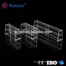 Acrylic Colorimetric Tube Rack 6 Holes