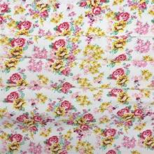 Tissu Viscose Rayonne Tissu Imprimé Floral Daisy