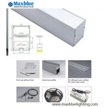 Colgante LED Lineal Luz Alumio Perfil (5070)