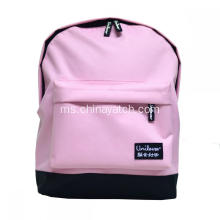 Fesyen Pink Girl Backpack