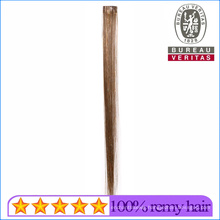 Synthetic Hair Material Colordful Hair with Colorful Silks 1 Piece Single Piece Clip Hair Extension Remy Hair