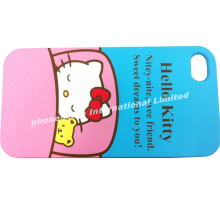 Lovely designed hello kitty phone cases, green product case for iphone