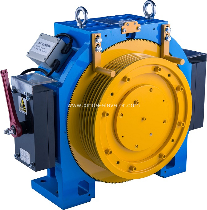 China gearless traction motor for mr and mrl elevator for What is traction motor