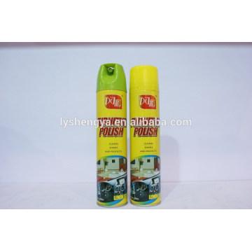 Pulimento de muebles en aerosol