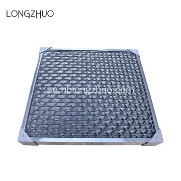 PVC Cellular Air Inlover Louver Of Square Cooling Tower