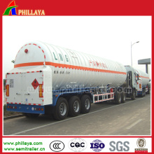 Fuel Transport LNG Tanker Truck Semi Trailer for Sale