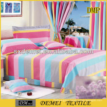 types of woven printed bedsheet fabric