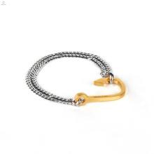 Bracelet à ancre en acier inoxydable