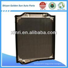 Auman 1124 aluminum radiator tube radiator