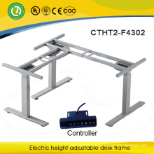 Europe and America Hot Sale computer desk assembly instructions Electric Height Adjustable Tables