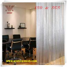 Fabrik-Versorgungsmaterial-dekoratives / Kettenglied-Vorhang-Ineinander greifen mit billigem Preis