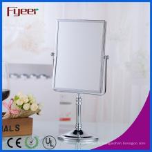 Miroir de table de maquillage de miroir de salle de bains moderne de beauté de Fyeer