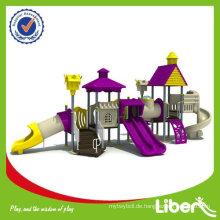 Villa Serie Kinder Plastik Spielhäuser LE-BS009