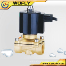 2A-15 G1/2'' ac 220v/24v brass underwater solenoid valve normal open/close