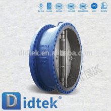 Didtek API Standard Dual Plate Flansch Wafer Rückschlagventil