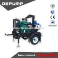 2 Zoll 4 Zoll 6 Zoll 8-Zoll-Serie Diesel-Feuerlöschpumpe Antrieb selbstansaugende Abwasserpumpe Einheit