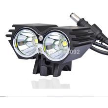 Brillo estupendo CREE XM-L2 luz de la bici Hid Linterna