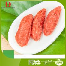 Fabricante goji al por mayor / bayas de goji rojo orgánico chino / red wolfberry / níspero rojo