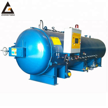 Steam Rubber Curing Autoclave / Rubber Pressure Vulcanizer Chamber For Sale