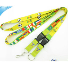 Fashion Sublimation Lanyard with Released Buckle