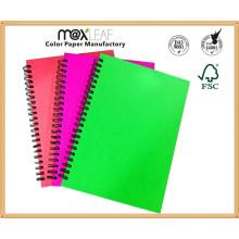 Fournisseurs d'écoles chinoises pour le cadeau promotionnel A4 PP Spiral Notebook Office