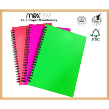 School Suppliers for A4/A5/A6 PP Cover Spiral Springs Notebook Students Diary