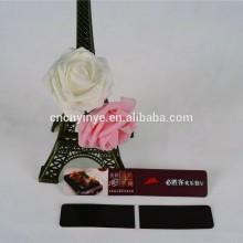 custom folding magnetic paper clip bookmark for kids