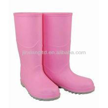 Ботинки дождя pvc девушки JX-992CP