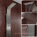 Modern design stainless steel bathroom shower panel