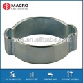 O-clip galvanized carbon steel fixed hose clamps