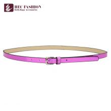 HEC Günstige Produkte zu verkaufen Hot Slim Fashion Lady Gürtel mit Metallring