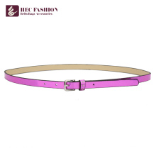 HEC Cheap Products To Sell Hot Slim Fashion Lady Belts With Metal Ring