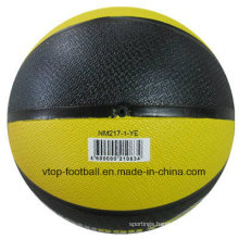 Two Colors 3kg Rubber Medicine Ball